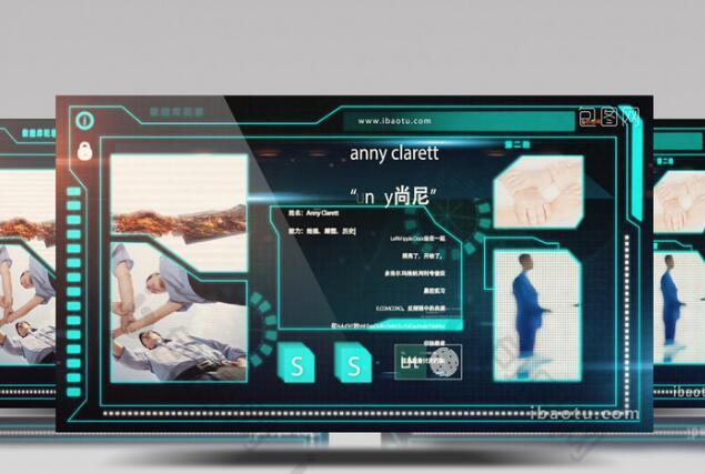 高科技数学科技视频片头展示AE模板