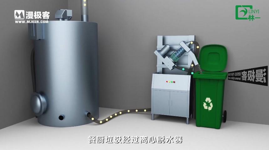 餐厨垃圾处理设备演示亚博足彩app视频