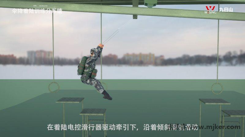 跳伞三维亚博足彩app模拟